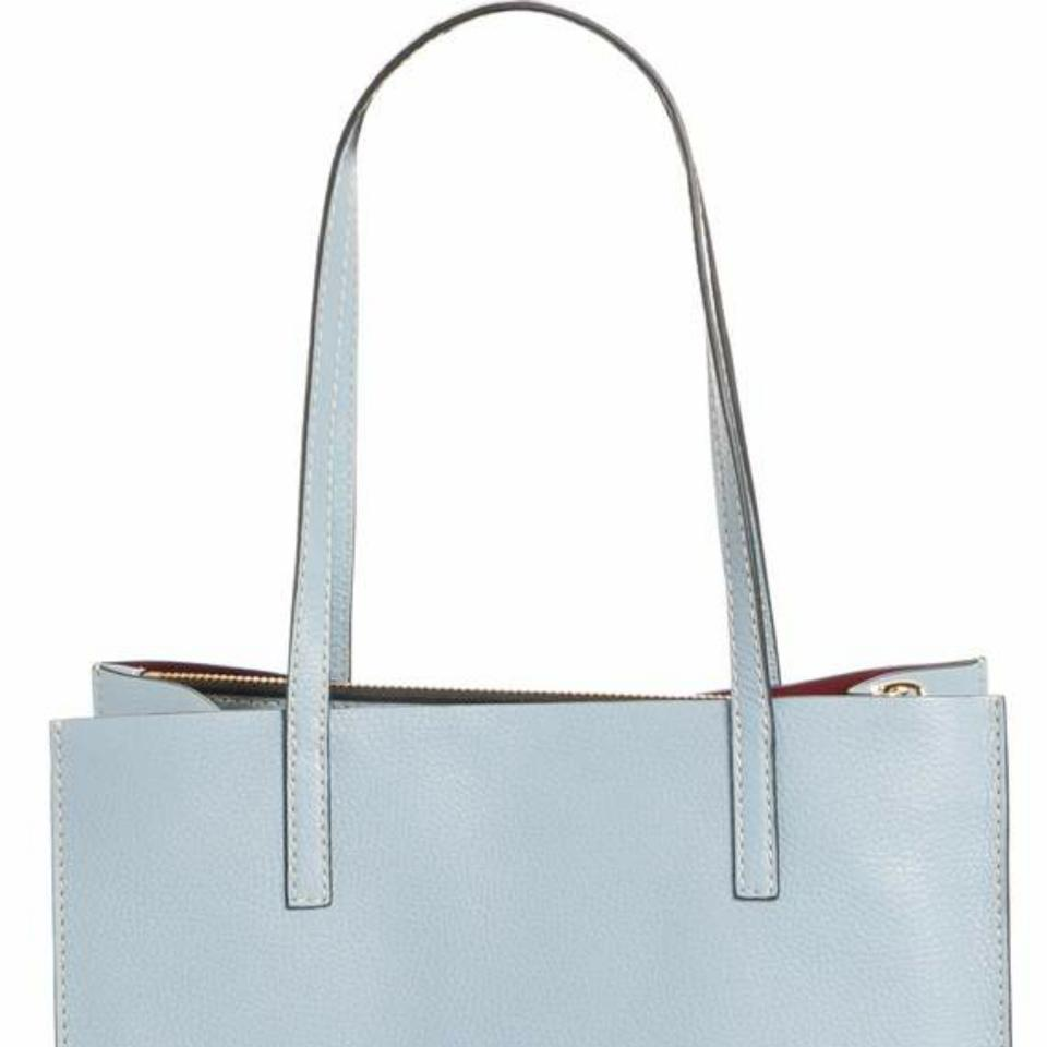 0c311a8f6808 Marc Jacobs New Bold Grind Shopper Light Blue Leather Tote - Tradesy