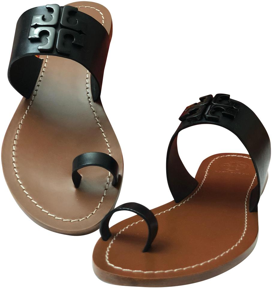 85aa4437b Tory Burch The Lowell Flat Slide Sandals Size US 7 Regular (M