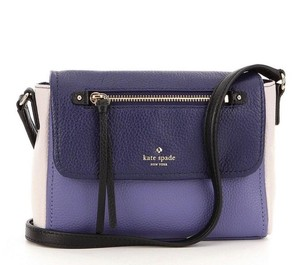 Kate Spade Mini Toddy Blue/Multi Pebbled Leather Pxru 6909 Cross Body Bag