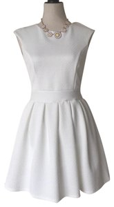 Emerald Sundae short dress white on Tradesy