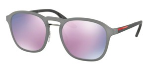 Prada Free 3 Day Shipping SPS 02S VHD5T0 New Mirrored Lens