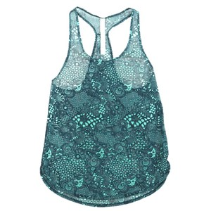 Lululemon Sheer Mesh Tank Top