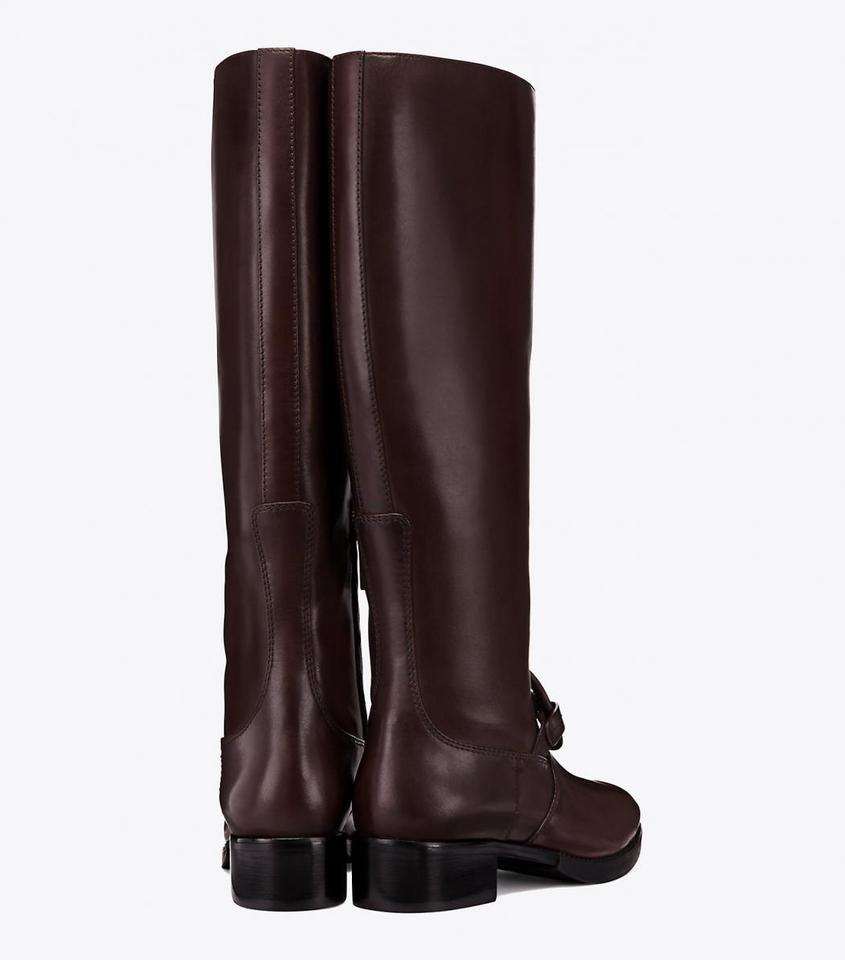 a75bf8633fefe Tory Burch Burnt Chocolate Miller Pull-on Leather Boots Booties Size US 8  Regular (M