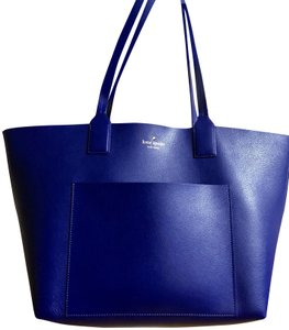 Kate Spade Tote in Blue/Multicolor Stripes