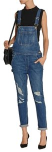 Frame Denim Skinny Jeans-Distressed