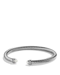 David Yurman 5mm Cable Classics Diamond Bracelet