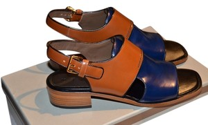 Marni Blue & Brown Sandals
