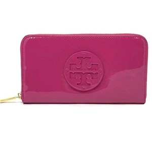 Tory Burch Tory Burch Stacked Patent Zip Continental Wallet