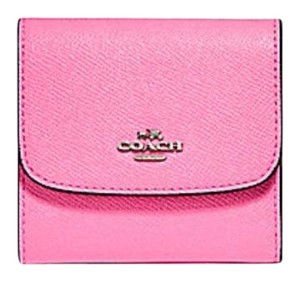 Coach COACH SMALL WALLET IN CROSSGRAIN LEATHER F25957