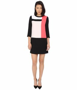 Kate Spade Shift Color-blocking Dress