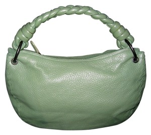 Bottega Veneta Leather Braided Pastel Hobo Bag