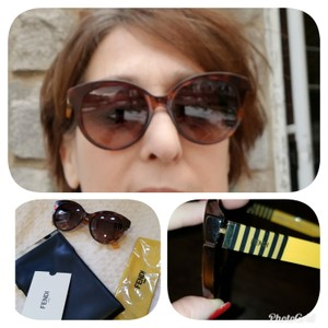Fendi Havana tortoise glasses