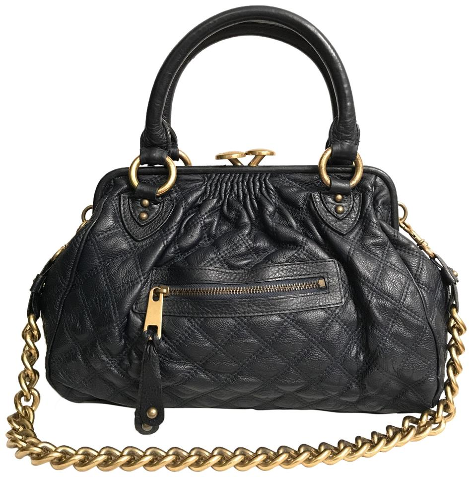 130f98af86bb Marc Jacobs Purse Handbag Shoulder Quilted Tote Satchel in Blue Gold Image  0 ...