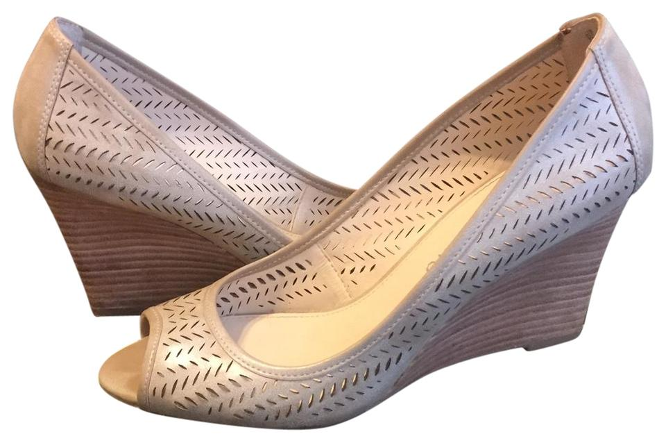 257e0b5f35ea Franco Sarto Natural Jania Wedges Size US 7 Regular (M, B) - Tradesy