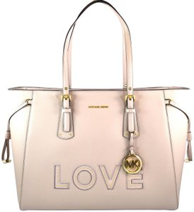 895abe3252be Michael Kors Voyager Soft Pink Leather Tote - Tradesy