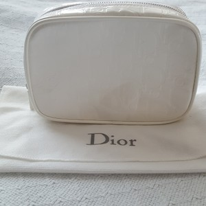 Dior Dior White Cosmetic Bag
