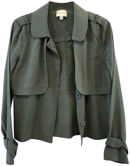 Item - Olive Green Military-inspired Jacket Size 4 (S)