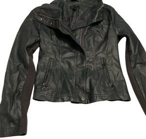 BB Dakota grey Leather Jacket