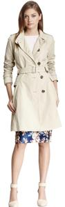 Cole Haan Zipped Pocket Inside Pocket Trench Coat