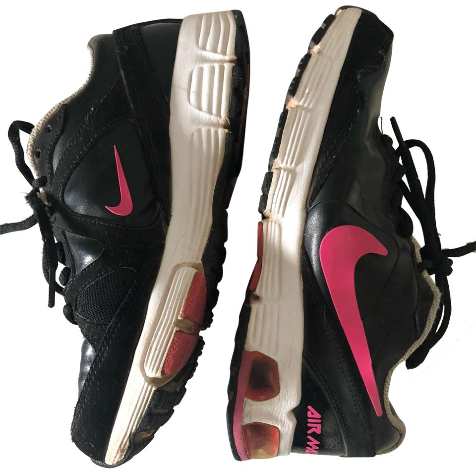 fc0e04ba94 Nike Black and Pink Women's Air Max Sneakers Size US 6 Regular (M, B ...
