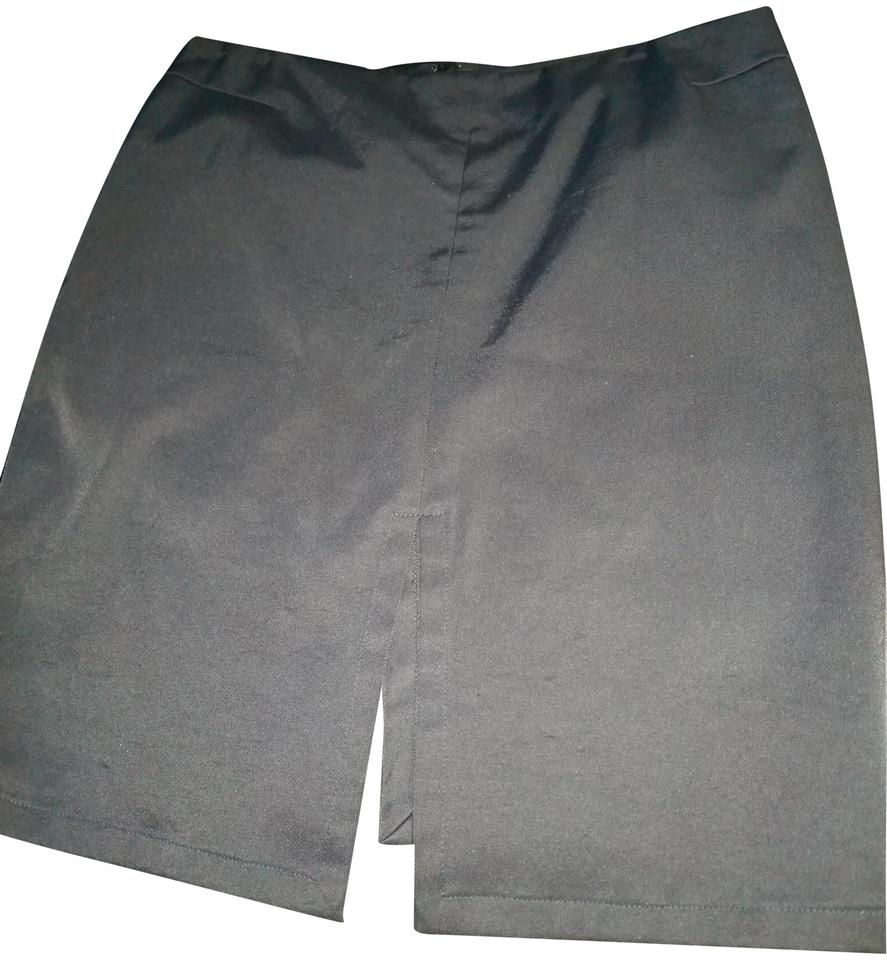 9c7d5d7ccfa00 Gucci Black 44 Made In Italy Nylon and Cotton Skirt Size 6 (S, 28)