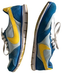 Nike blue and yellow Athletic