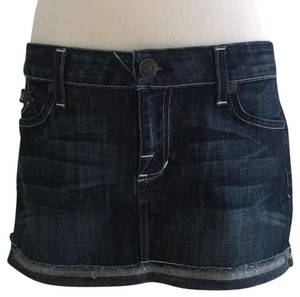 Rock & Republic Mini Skirt denim blue
