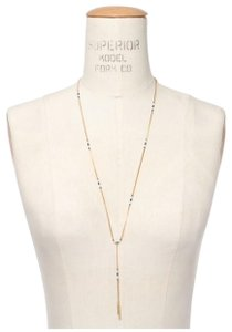 Madewell Madewell beaded lariat necklace