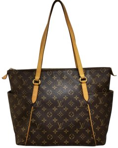 Louis Vuitton Monogram Mm Canvas Totally Shoulder Bag