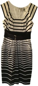 Max and Cleo Pleated Belted Dress