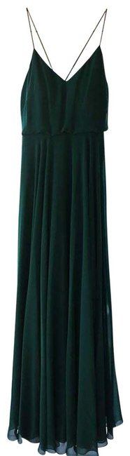 Item - Green Inesse From Bhldn Long Formal Dress Size 8 (M)