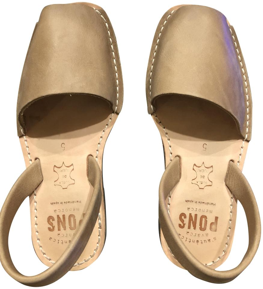 Taupe Pons Pons Taupe Classic Style In Sandals 87f6d8