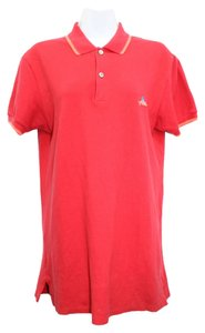 MA Marc By Marc Jacobs Short Sleeves Cotton Shirt S T Shirt RED