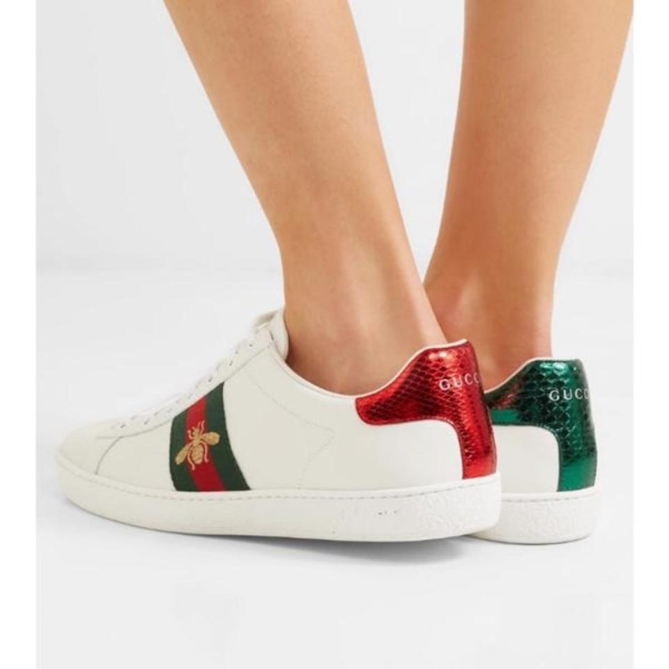 a121d6d190f Gucci Ace Water Snake Embroidered Sneakers Sneakers Size US 8 ...