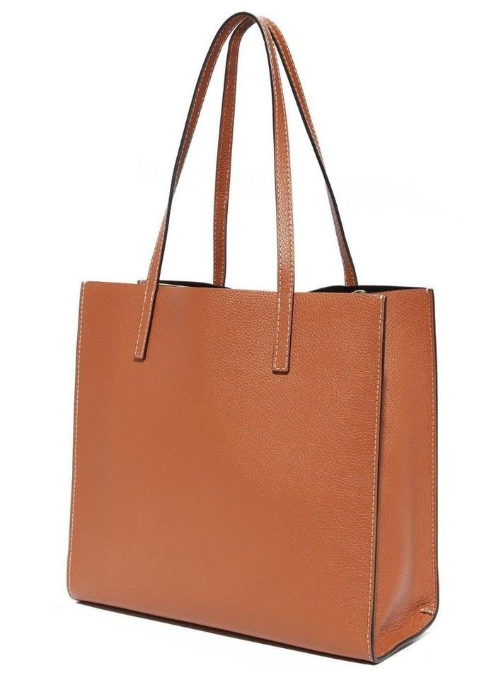 8f0167e64cad Marc Jacobs Bold Grind East   West Shopper Saddle Leather Tote - Tradesy