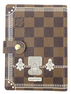 Louis Vuitton LOUIS VUITTON Damier Agenda PM Day Planner Cover LV Print