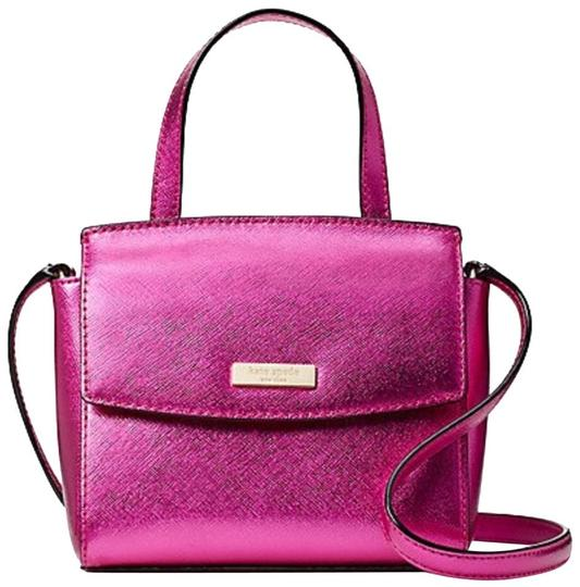 Preload https://img-static.tradesy.com/item/23029007/kate-spade-laurel-way-mini-alisanne-baja-rose-leather-cross-body-bag-0-0-540-540.jpg