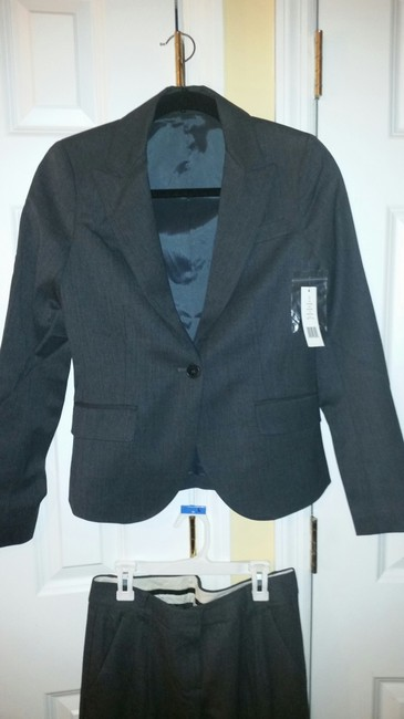 Theory NEW Theory Hayward Charcoal Pant suit style # 50771124
