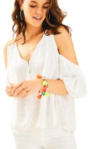 Lilly Pulitzer Top Resort White