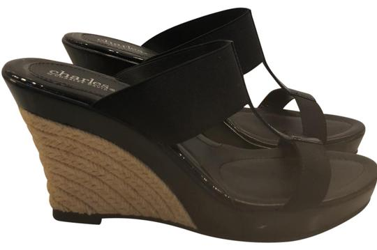 Preload https://img-static.tradesy.com/item/23029597/charles-by-charles-david-black-wedge-sandals-size-us-9-regular-m-b-0-1-540-540.jpg