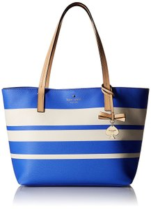 Kate Spade Tote in Adventure Blue/Cement