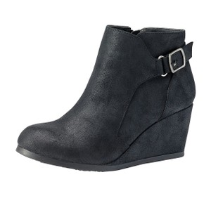 Rampage Suede Black Boots