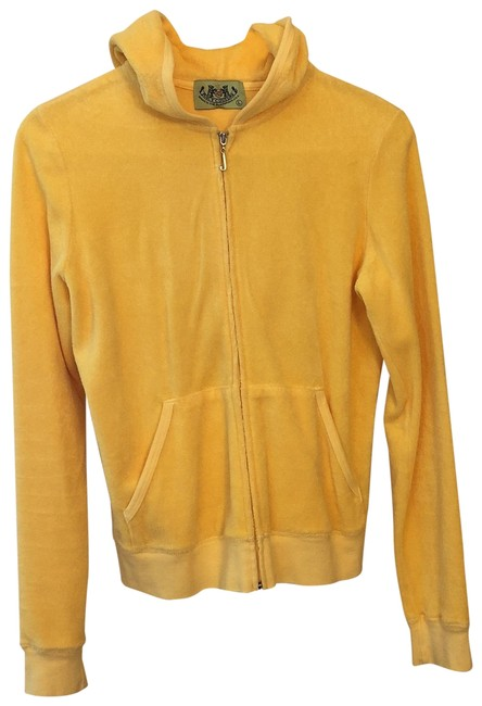 Item - Yellow Terry Hoodie and Matching Pants Activewear Gear Size 8 (M)