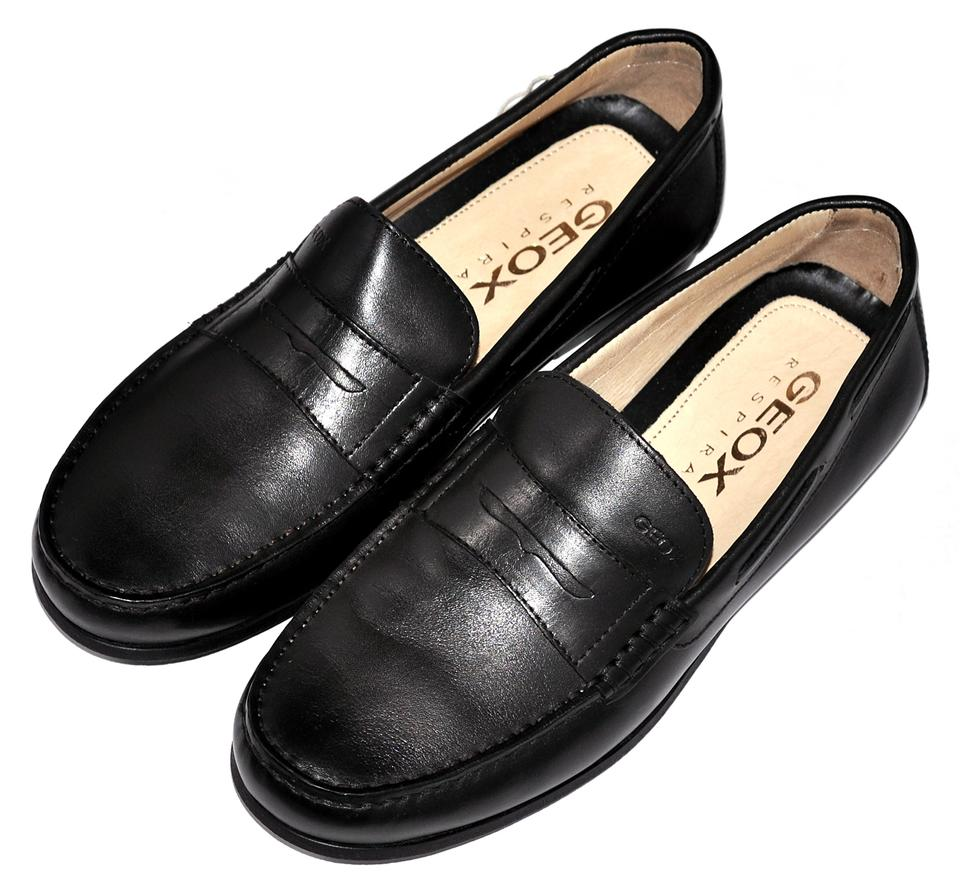 letzte Veröffentlichung hochwertiges Design wähle das Neueste Geox Black Genuine Leather Respira Mens Moccasins Loafers Formal Shoes Size  US 7 Regular (M, B) 45% off retail