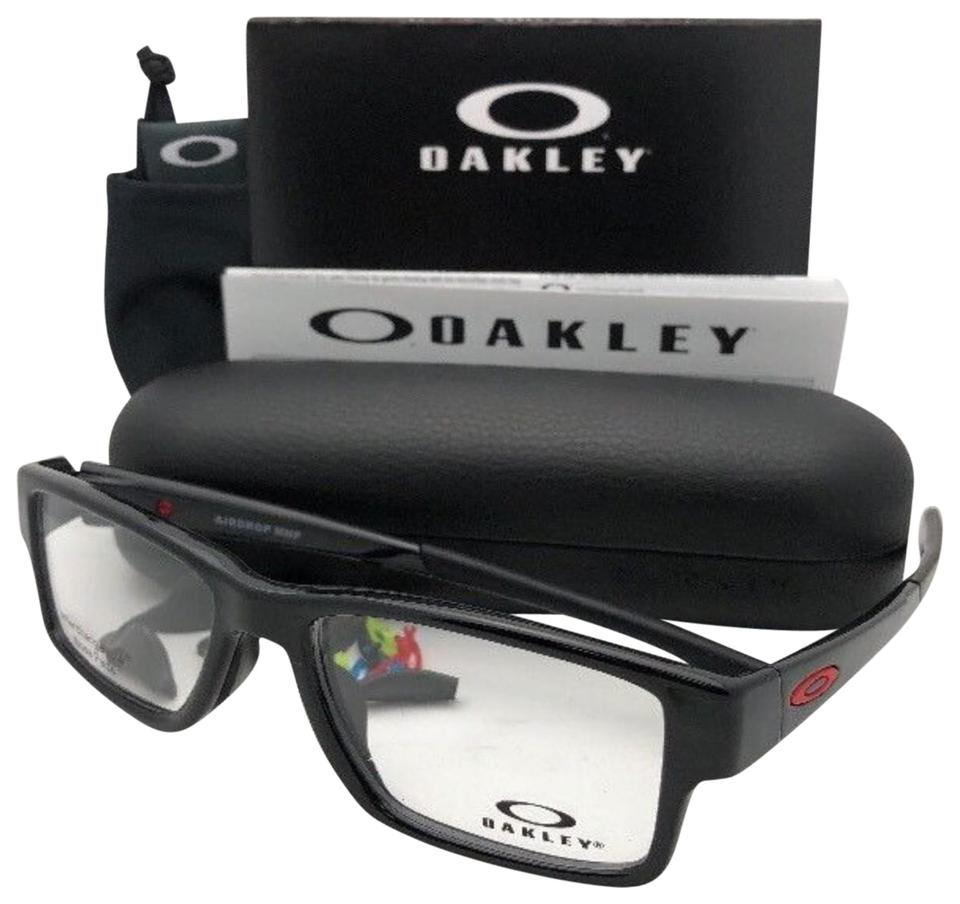 8942d86c0e3f4 Oakley New OAKLEY Eyeglasses AIRDROP MPN OX8121-0255 55-17 139 Polished  Black Image ...