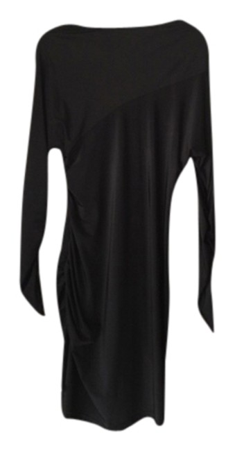 Preload https://item1.tradesy.com/images/renvy-black-party-mid-length-cocktail-dress-size-8-m-2303065-0-0.jpg?width=400&height=650