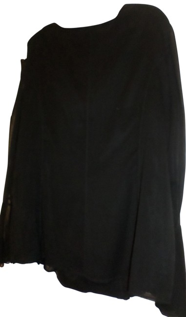 Preload https://img-static.tradesy.com/item/23030668/kay-unger-black-cowl-neckline-blouse-size-20-plus-1x-0-1-650-650.jpg