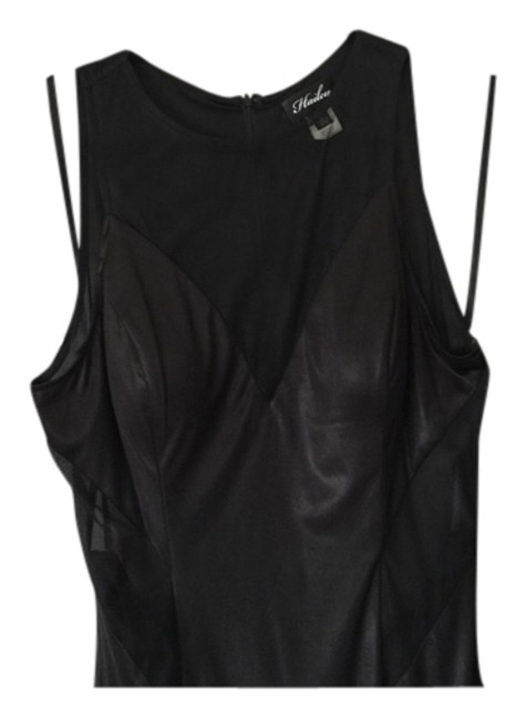 Preload https://item1.tradesy.com/images/hailey-logan-black-sexy-long-cocktail-dress-size-12-l-2303070-0-0.jpg?width=400&height=650