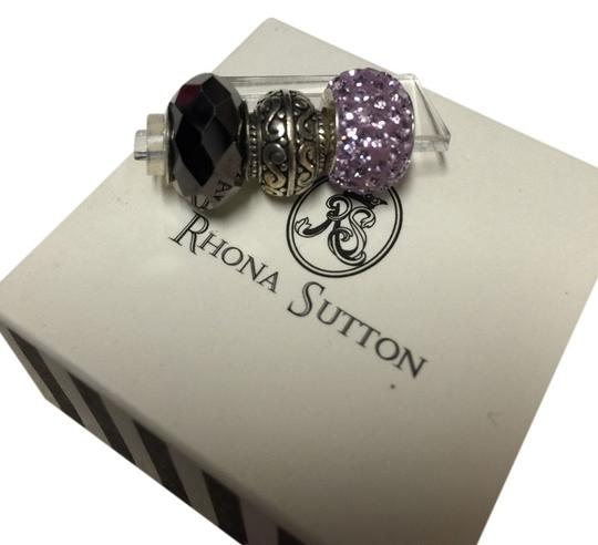 Rhona Sutton Rhona Sutton Purple Bead Charm Set