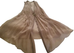 Elizabeth and James Silk Pleated Top